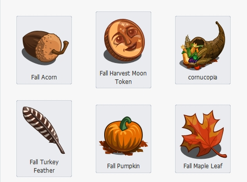 Fall Collectibles Set (Autumn for the rest of us lol)